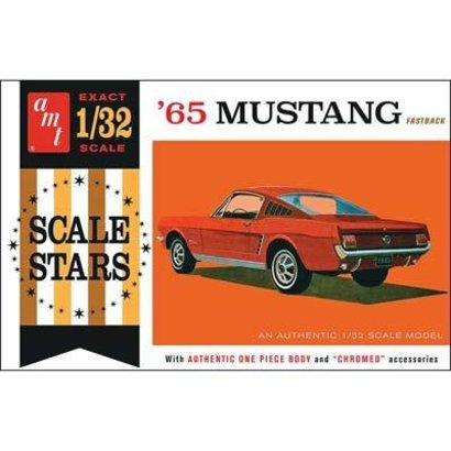 AMT - AMT Models AMT1042/12 1/32 1965 Ford Mustang Fastback plastic model