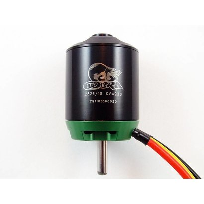 COB Cobra Motors Cobra C-2826/10 Brushless Motor, Kv=930 *