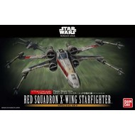 BAN - Bandai Gundam 1/72 Red Squadron X-Wing Starfighter Rogue One