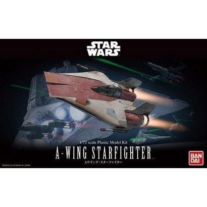 BAN - Bandai Gundam 206320 1/72 A-Wing Starfighter Star Wars