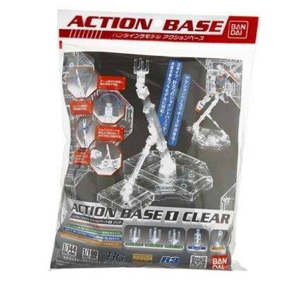 BAN - Bandai Gundam 152159 1/100 Clear Display Stand Action Base I