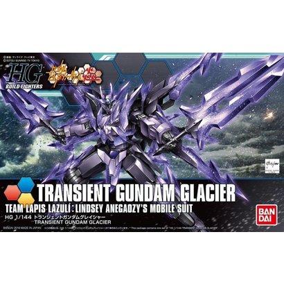 BAN - Bandai Gundam 211947 HGBF 1/144 Transient Gundam Glacier Honoo Try