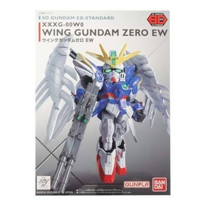BAN - Bandai Gundam 202754 SD EX-Standard Wing Gundam Zero Ver EW