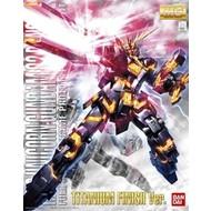 BAN - Bandai Gundam 1/100 MG Banshee Titanium Finish Ver 2