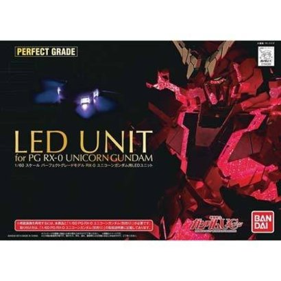 BAN - Bandai Gundam 194366 1/60 Unicorn Gundam LED Lighting Set
