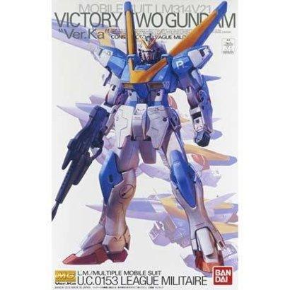 BAN - Bandai Gundam 203225 MG 1/100 V2 Gundam Ver Ka Victory Gundam