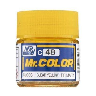 GNZ-Gunze Sangyo C48 Gloss Clear Yellow 10ml