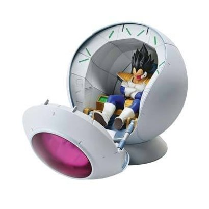 BAN - Bandai Gundam 210526 Saiyan Space Pod Dragon Ball Z Fig-Rise Mechanic