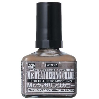 GNZ-Gunze Sangyo WC07 Grayish Brown GSI, Mr. Weathering Color Paint
