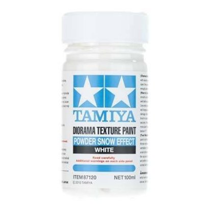 TAM - Tamiya 865- 87120 Diorama Texture Paint Powder Snow Effect