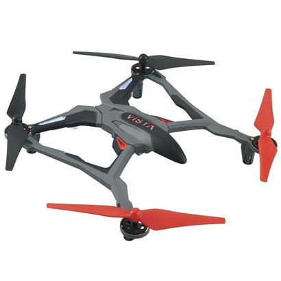 DID - Dromida E03RR Vista UAV  RED Quadcopter RTF