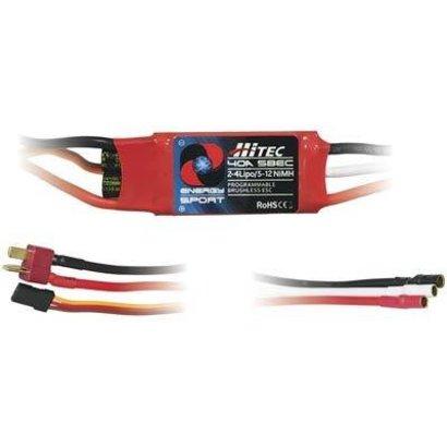 HRC-Hitec 59047 Energy Sport 40 Amp 2-4S Lipo 5-12NiMH 5V 2A BEC