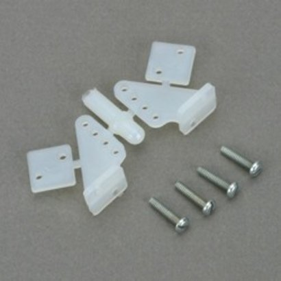 DUB - Dubro 107 Control Horn Nylon 1/2A (2)