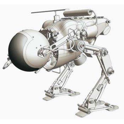 HSG - Hasegawa (D)  64006 1/20 Luna Tactical Reconnaissance LUM-168 Camel