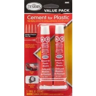 TES - Testors 3509C Cement For Plastic  Value Pack *