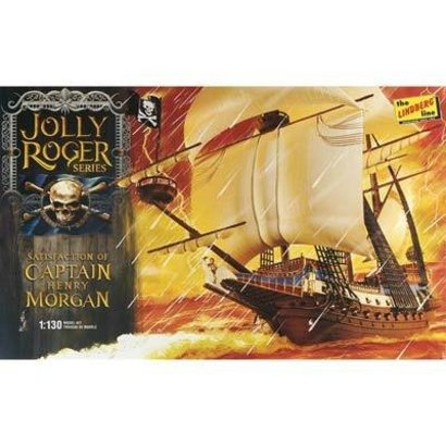 LND - Lindberg HL219/12 1/130 Jolly Roger Series Capt. Morgan