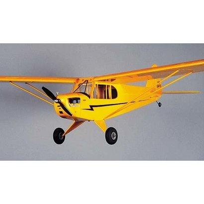 HRR - HERR Model Airplanes HERR PIPER J-3 CUB 1/2A R/C .049 -.061 48 INCH WING SPAN