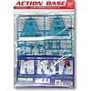 BAN - Bandai Gundam 150659 1:144 Action Base 2 Aqua Blue