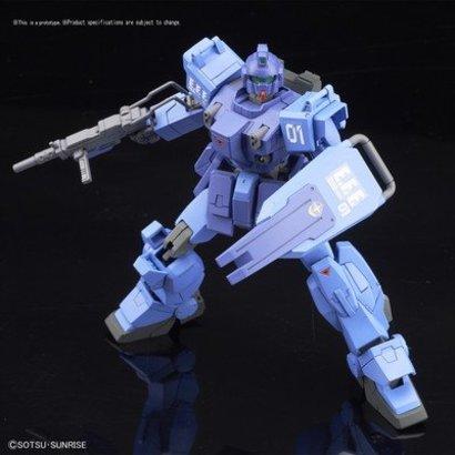 "BAN - Bandai Gundam 216740 #207 RX-79BD-1 Blue Destiny Unit1 ""Exam"" ""MS Gundam: Blue Destiny"", Bandai HGUC 1/144"