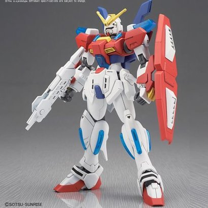 "BAN - Bandai Gundam 219547 Star Burning Gundam, ""Gundam Build Fighters"", Bandai HGBF 1/144"