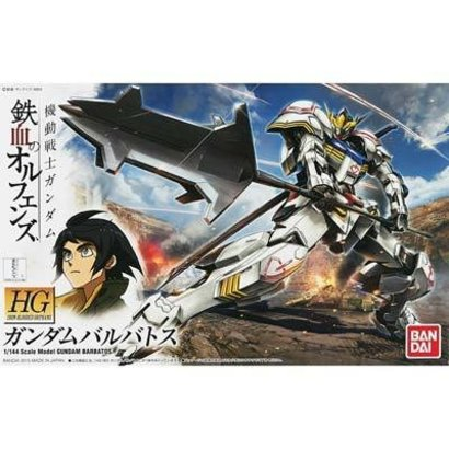 BAN - Bandai Gundam 201873 1/144 Gundam Barbatos (Gundam Orphans)