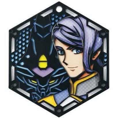 BAN - Bandai Gundam 205979 Character Stand Plate Gaelio Bauduin