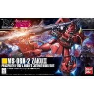 BAN - Bandai Gundam #166 MS06R-2 Zaku II J.Ridden's HG