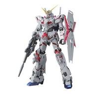 BAN - Bandai Gundam Unicorn Gundam (Red / Green Twin Frame Edition) Titanium Finish (MG)