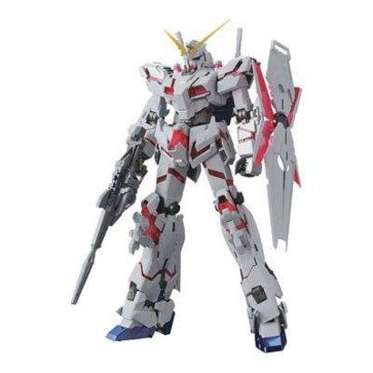 BAN - Bandai Gundam 215089 Unicorn Gundam Titanium Finish MS