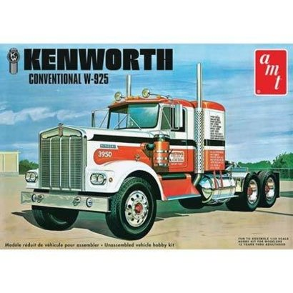 AMT - AMT Models AMT1021/06 1/25 Kenworth W925 Movin On Semi Tractor