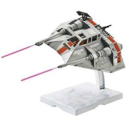 BAN - Bandai Gundam 217734 1/48 & 1/144 Snowspeeder Set Star Wars Bandai