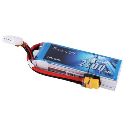 Gens ace Gens ace 2200mAh 3S 11.1V 25C Lipo Battery Pack with XT60 plug