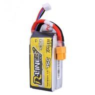 Gens ace 1300mAh 75C 3S1P lipo battery w/XT60 Plug
