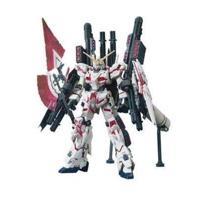 "BAN - Bandai Gundam 207581 #199 Full Armor Unicorn Gundam Destroy Mode/Red Color Ver. ""Gundam UC"" Bandai HGUC 1/144"