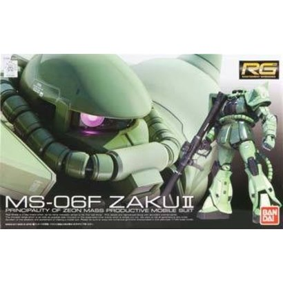 BAN - Bandai Gundam 170388 #4 MS-06F Zaku II RG  1/144