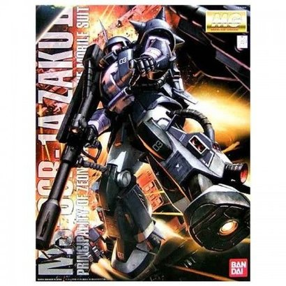 BAN - Bandai Gundam 152373  Gundam MS-06R Zaku II Black Tri-Stars ver.2.0 1/100 scale kit