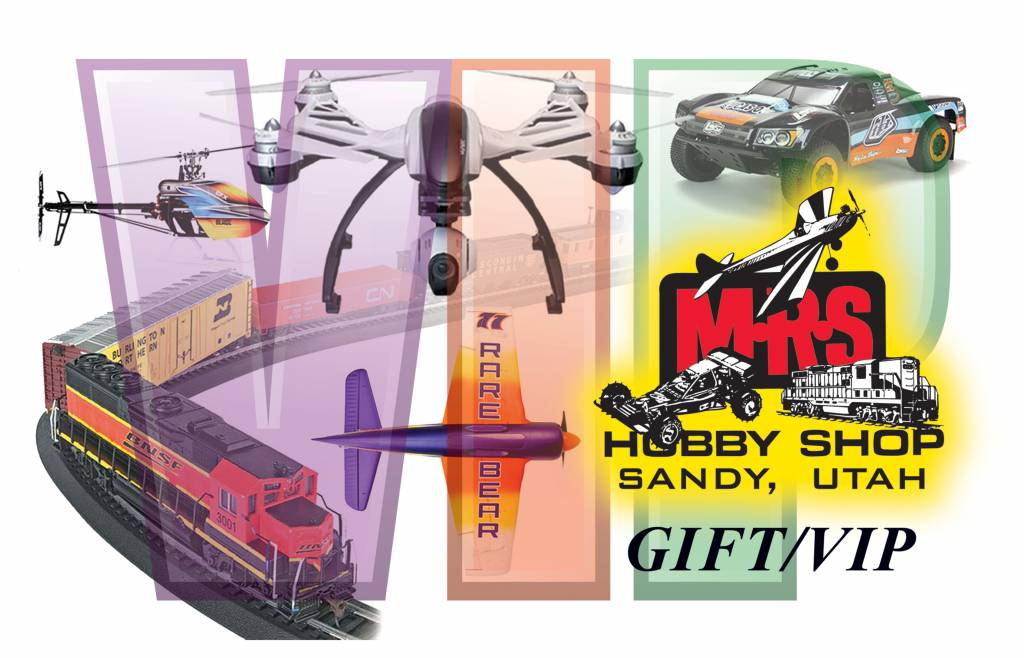 M R S Hobby Shop GIft Cards
