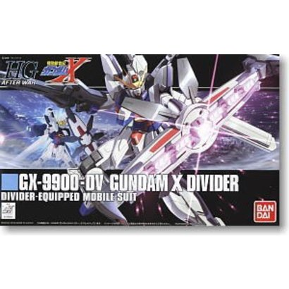 BAN - Bandai Gundam 165661 #118 GX-9900-DV Gundam X Divider, HGAW