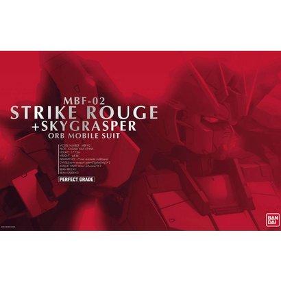 """BAN - Bandai Gundam 138257 Strike Rouge + Skygrasper """"Gundam SEED"""", Bandai PG"""