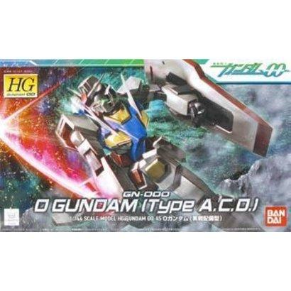BAN - Bandai Gundam 158760 1/144 #45 O Gundam Type A.C.D