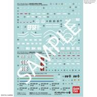 "BAN - Bandai Gundam 221293 GUNDAM DECAL No.113 Multi-Use ""MOBILE SUIT GUNDAM THE ORIGIN"" Bandai Decals"