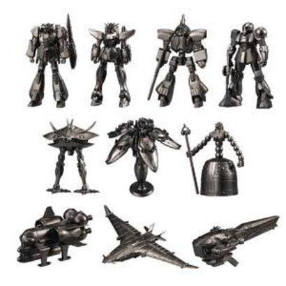 BAN - Bandai Gundam 09755 Gundam Kit Collection #2 Bandai Shokugan Collection