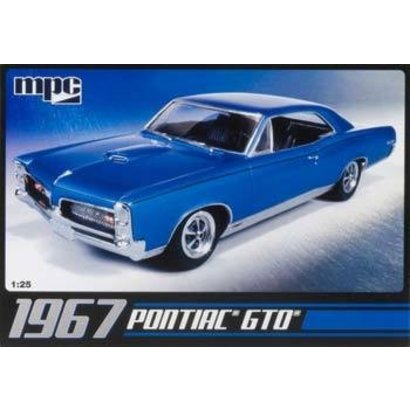 MPC (MPC) MPC710L 1/25 '67 Pontiac GTO Plastic model kit.