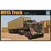 TSM - Trumpeter Models 1015 1/35 US M915 Army Truck w/40' Container Trailer