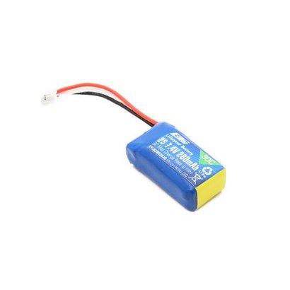 EFL - E-flite B2802S30 Li-Po Battery Pack 280mAh 2S 7.4V 30C