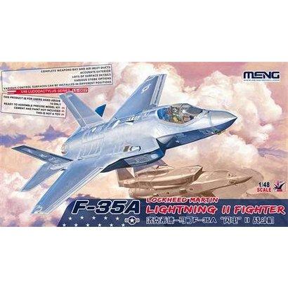 MGK-MENG MODEL KITS 007 Meng 1/48 F-35A Lightning II Fighter - MMLS007