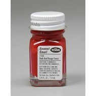 TES - Testors 1104 Enamel 1/4oz Dark Red *