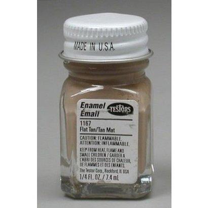 TES - Testors 1167TT Flat Tan 1/4 oz