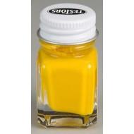TES - Testors 1169 Enamel .25 oz Flat Yellow