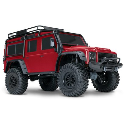 TRA - Traxxas 82056-4 TRX-4 Scale & Trail Crawler RTR (RED)